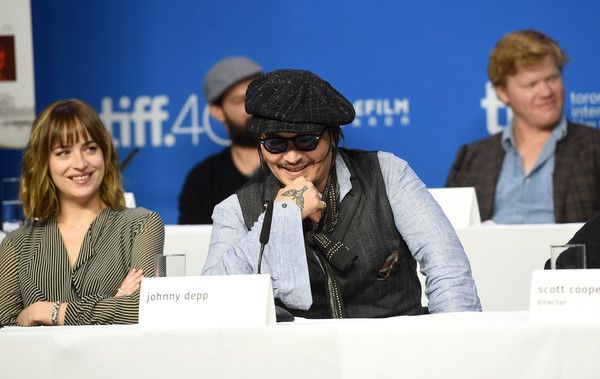 Johnny Depp Photos - 2015 Toronto International Film Festival - 'Black Mass' Press Conference - Zimbio