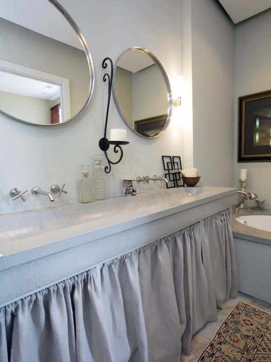Best Bath Ideas Images On Pinterest Bath Ideas Bathroom - Undermount trough sink bathroom for bathroom decor ideas