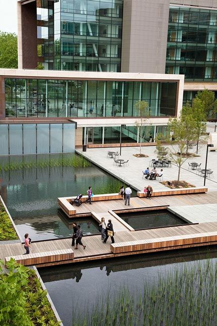 Bill & Melinda Gates Foundation Campus by Gustafson Guthrie Nichol