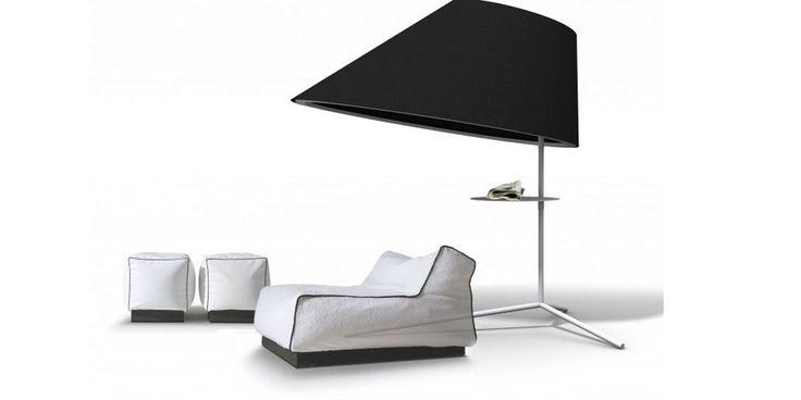 Buzzi Shade Standing, lampada divisorio in feltro, su NOmadeDESIGN http://www.nomadedesign.com/index.php/prodotti/pouff-tende-tappeti