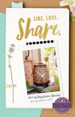 Spring/Summer Scentsy Catalog 2017 Check out everything new and exciting Scentsy has to offer in it's best yet catalog! Launching officially March 1st. Scentsy is the best DS company out there, hands down! Message me to order your new favorites or simply clicked the link and start shopping www.janiceleecook.scentsy.ca