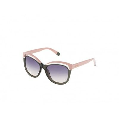 Occhiale da Sole Furla Sofia SU4957- 09FF The Sofia Sunglasses,  express the many different shades of the Furla universe. The oversized butterfly shape and the tone on tone shaded lens make this an extremely feminine model, suitable for all types of occasion. Colour takes centre stage in the Sofia Collection, thanks to a unique effect created by superimposing blocks of colour with crystal transparencies.