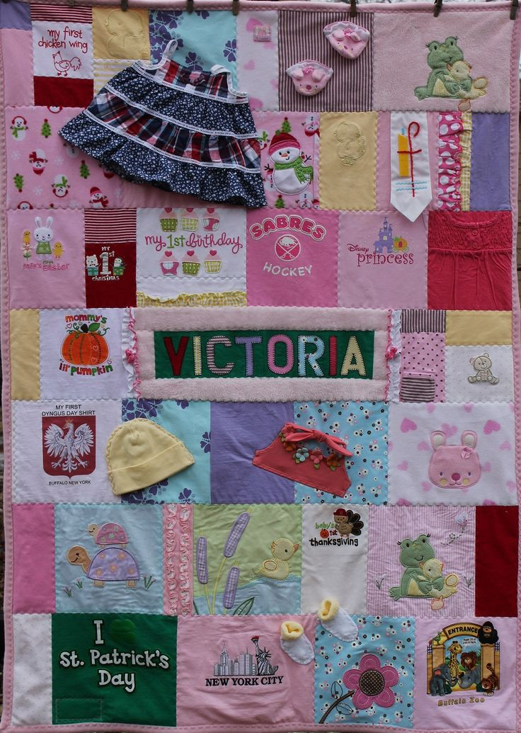 Baby Clothes Quilt Cool Ideas
