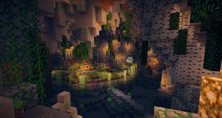 A beautiful cave  Project Ideas Minecraft  Minecraft