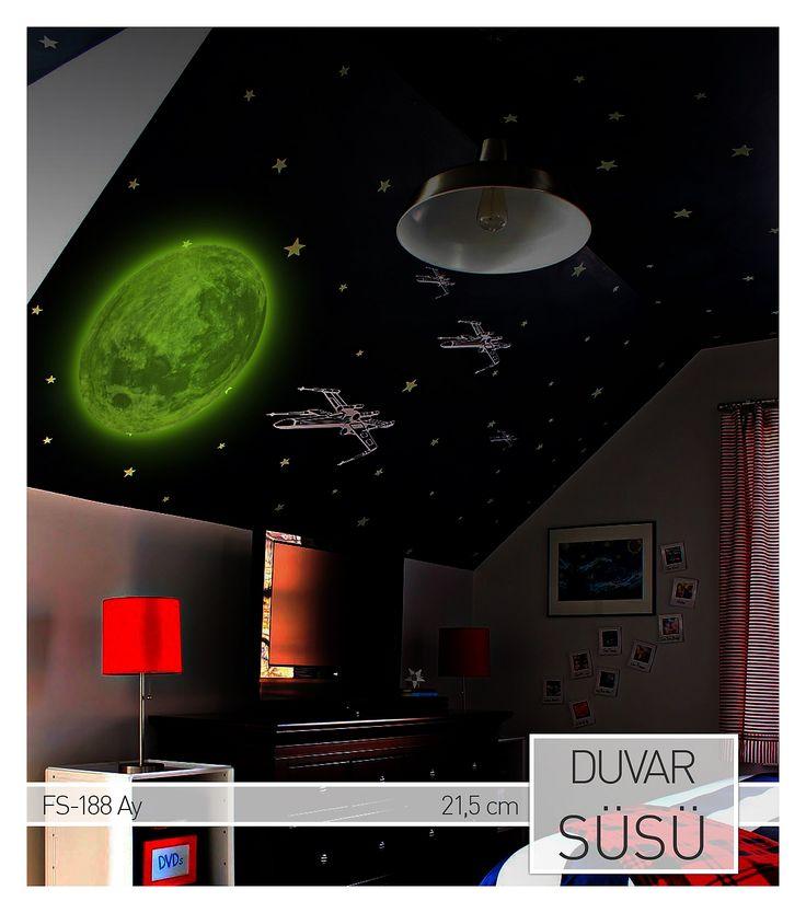3D (3 Boyutlu) Fosforlu Ay Duvar Süsü Ürüne ulaşabileceğiniz adres : http://www.artikeldeko.com.tr/?urun-18039-3d-fosforlu-ay-duvar-susu