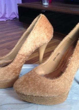 Kaufe meinen Artikel bei #Kleiderkreisel http://www.kleiderkreisel.de/damenschuhe/hohe-schuhe/120874874-pumps-beige-camel-fell-neu-stiletto
