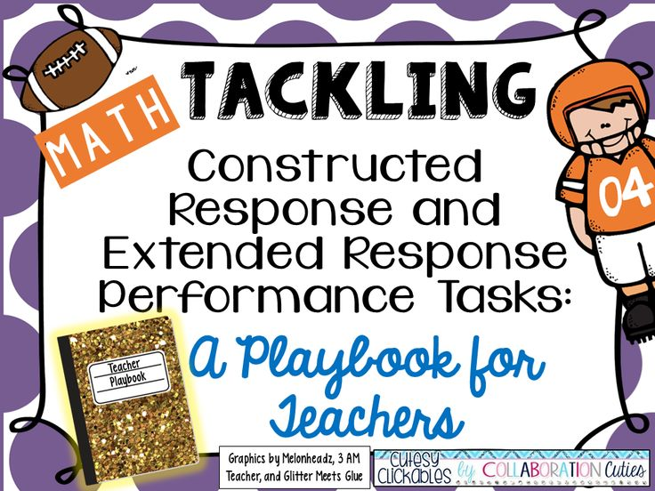 Tackling Constructed Response Math Performance Tasks {How to and a Pin It to Win It!}