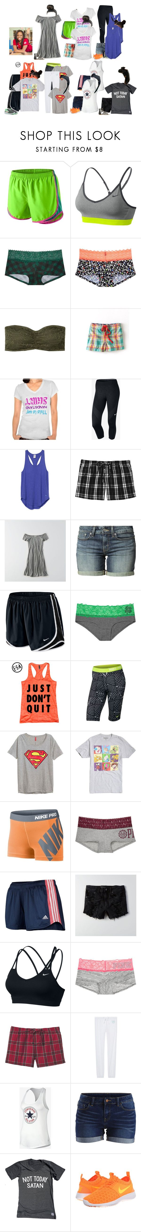 """""""Alysha This Week"""" by thesummitfam ❤ liked on Polyvore featuring NIKE, Victoria's Secret, Boden, American Eagle Outfitters, Levi's, Nickelodeon, adidas, VILA, Disney and Coleman"""