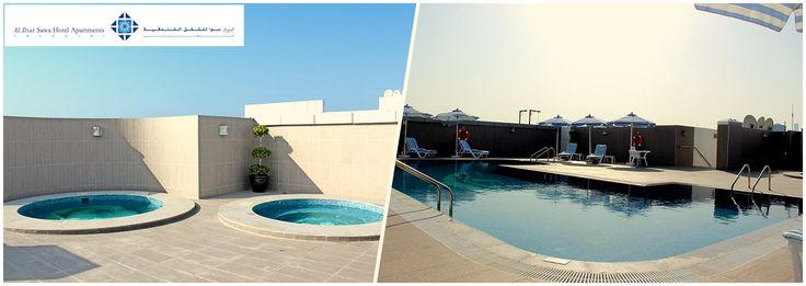 Cherish the feeling of ultimate luxury with #AlDiar #SawaHotelApartments varied recreational arrangements.