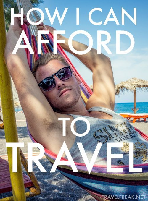 How I've been able to afford traveling the world non-stop for the last five years. From working in bars to turning my blog into a business, I reveal all my secrets!
