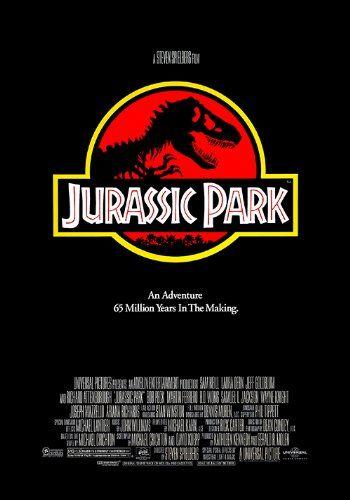 Jurassic Park 12X18 Movie Poster (THICK PAPER) - Sam Neill Laura Dern Jeff Goldblum @ niftywarehouse.com #NiftyWarehouse #JurassicPark #Jurassic #Dinosaurs #Film #Dinosaur #Movies