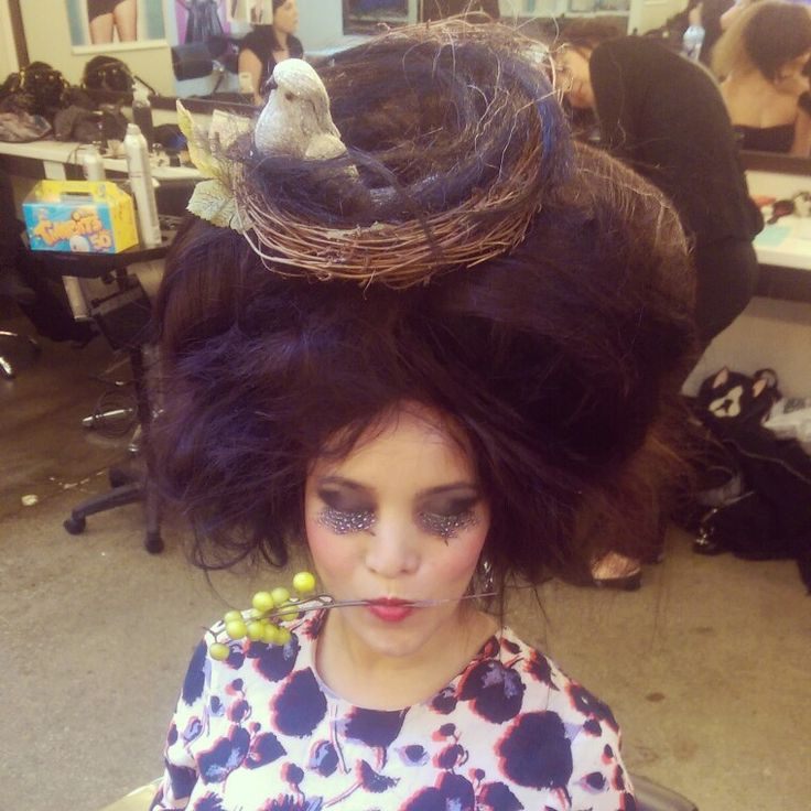 my Avantgarde inspiration nest  , make up and hair desing by me