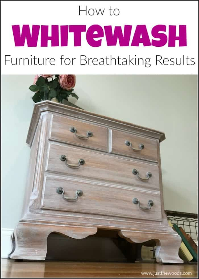 How To Whitewash Wood Furniture For Breathtaking Results White Wash Wood Furniture White Washed Furniture White Wood Stain