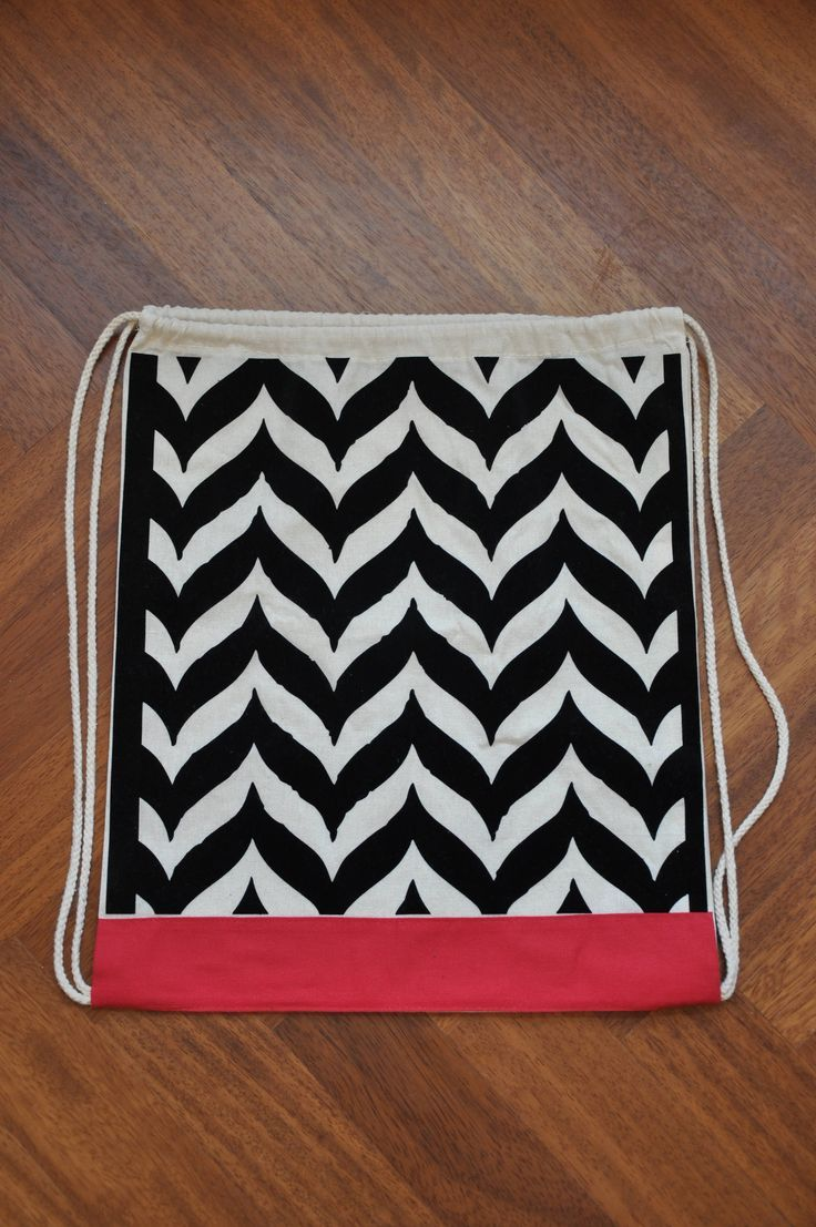 Mini backpack, Small backpack, Drawstring backpack, Embroidered backpack, Canvas drawstring, String bag, Canvas bag, Sack bag, Chevron bag