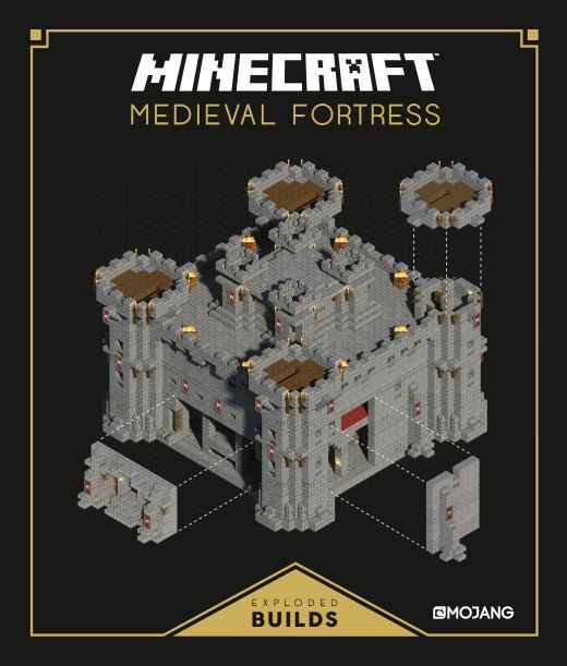 Minecraft: Exploded Builds: Medieval Fortress Minecraft Exploded Builds is a medieval-themed building book, packed with guides, schematics and inspirational ideas to construct, defend and customise your very own castle. With builds ranging from sturdy walls and turrets, to grandiose throne rooms and dank, dark dungeons, readers can develop their own unique medieval kingdom with ease.