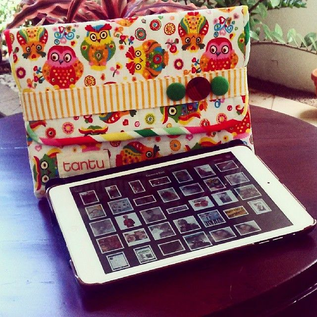 Another model of #mini #ipad #case with #quilt #cover