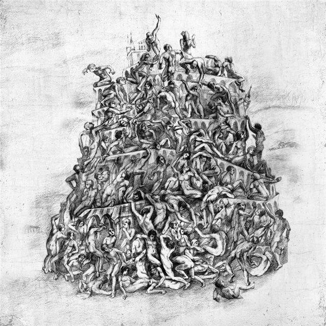 "Cover artwork for ""Overcoming Babel"" — tenth album of LUTOMYSL"