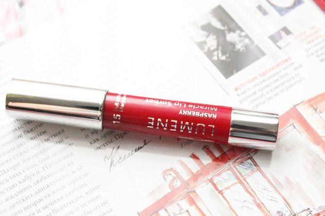 Помада-карандаш для губ Lumene Rasberry Miracle Lip Sorbet №15