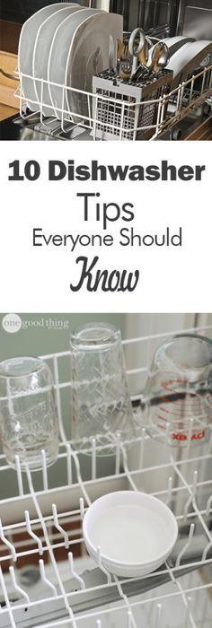 Dishwasher, Dishwasher Cleaning Tips, Cleaning Tips and Tricks, How to Clean Your Dishwasher, DIshwasher Hacks, How to Care for Your Dishwasher, Popular, Cleaning, Clean Everything, Home Cleaning Tips