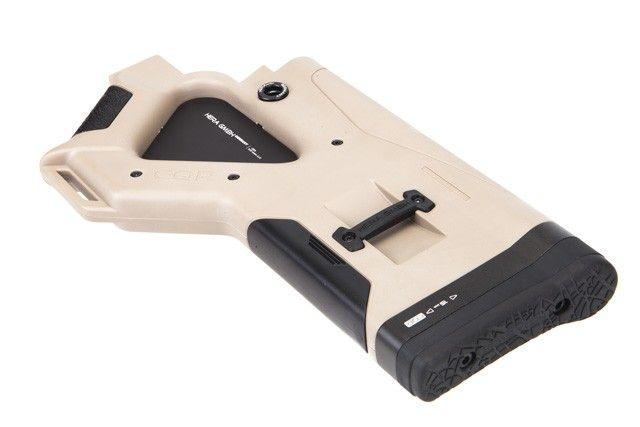 Hera Arms CQR Buttstock (CA-Version) - Tan, 12.13CA, by HERA ARMS, color Tan.
