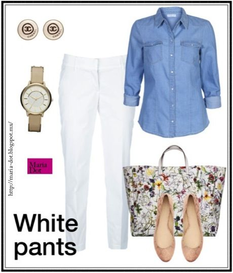 Pantalones blancos / white pants