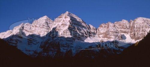 Maroon Bells Peaks, Rocky Mountains, Colorado