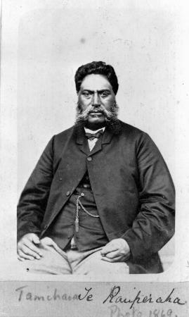 Tamihana Te Rauparaha, 1869
