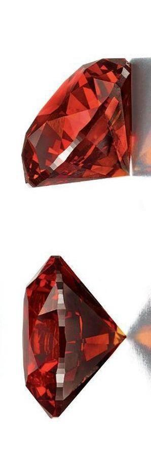 3.15 CARAT FANCY REDDISH ORANGE DIAMOND Estimate: $700,000 - $1,200,000   LBV ♥✤