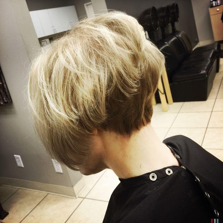 line bob hair cuts