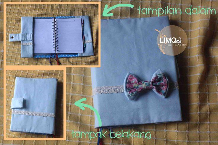Baby Blue | 55K | bahan : kain kanvas | check this limo-made.blogspot.com #handmade #coverbinder #sampulbinder #limitededition #semarang #indonesia #limomade