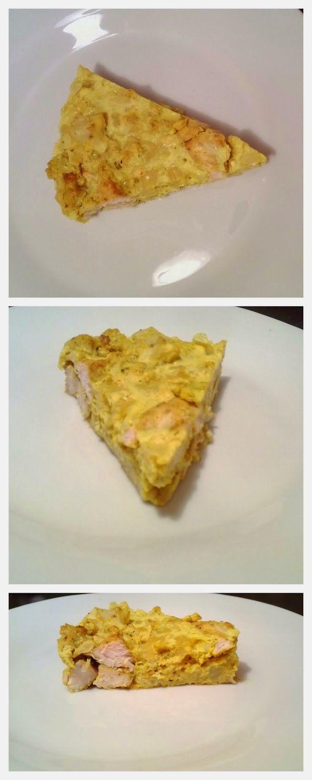 Zdrowo i dietetycznie... Moja rzeczywistość: Zapiekanka z kalafiorem i kurczakiem ze szczyptą curry :)