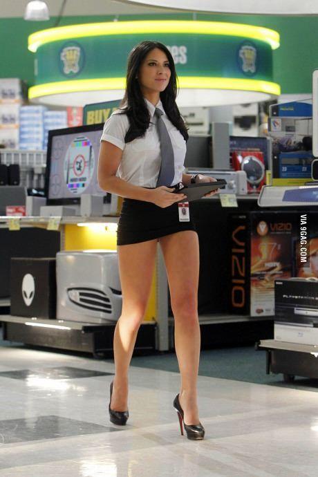 Office Women Short Skirts