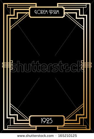 42 best gatsby signs invites images on pinterest art deco wedding
