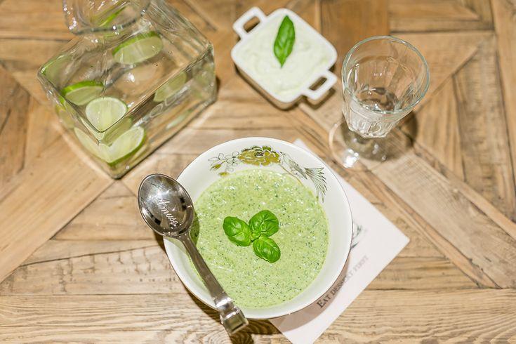 brokkoli og grønnkålsuppe