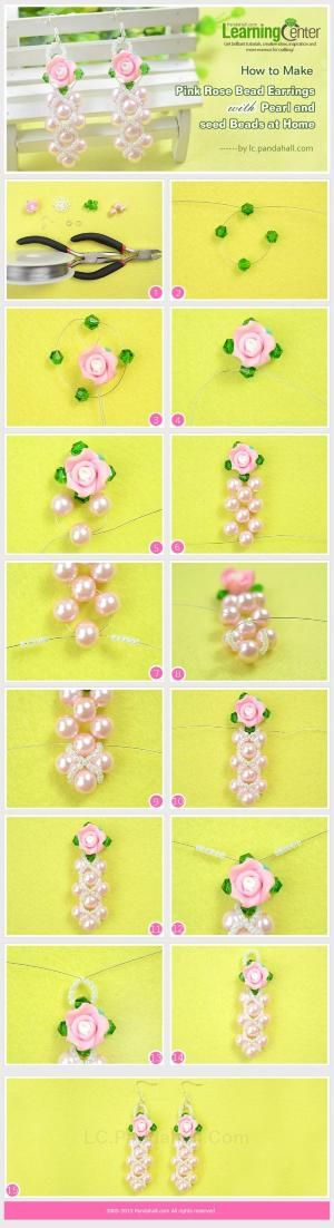 how to make pearl jewelry at home