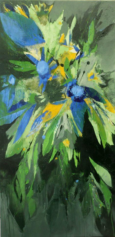 Gestern Kornblumen, blauer Natternkopf und Günsel und heute Mohn, wilde Malve und Storchenschnabel….. Morgen dann vielleicht Lavendel, Knabenkraut und Wicke…. Unzählige Wildpflanzen kre…