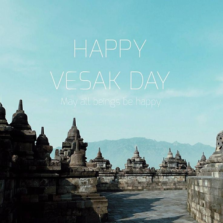 Happy Vesak Day to all of you my friends whom celebrate this Holy Day. May all beings be happy  by ikayunitas
