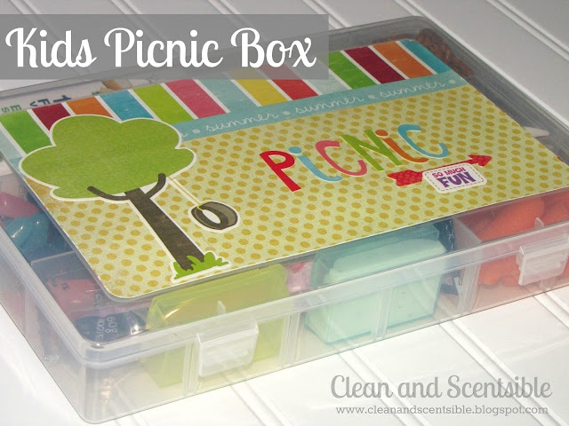 Clean & Scentsible: Fun and Easy Picnic Lunch