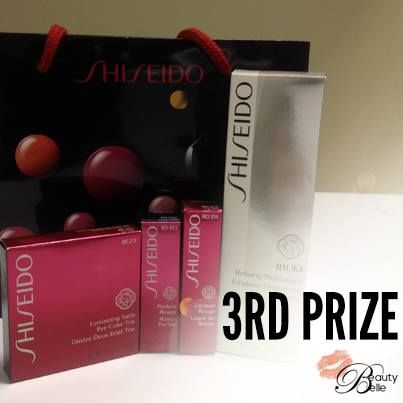 WIN this Shiseido beauty & skincare hamper valued at R1 685. Enter here: http://beautybelle.co.za/ibuki-campaign/