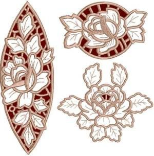 Rose Lace Set- I really like the one on the top right, you should check out the website, there are a ton more