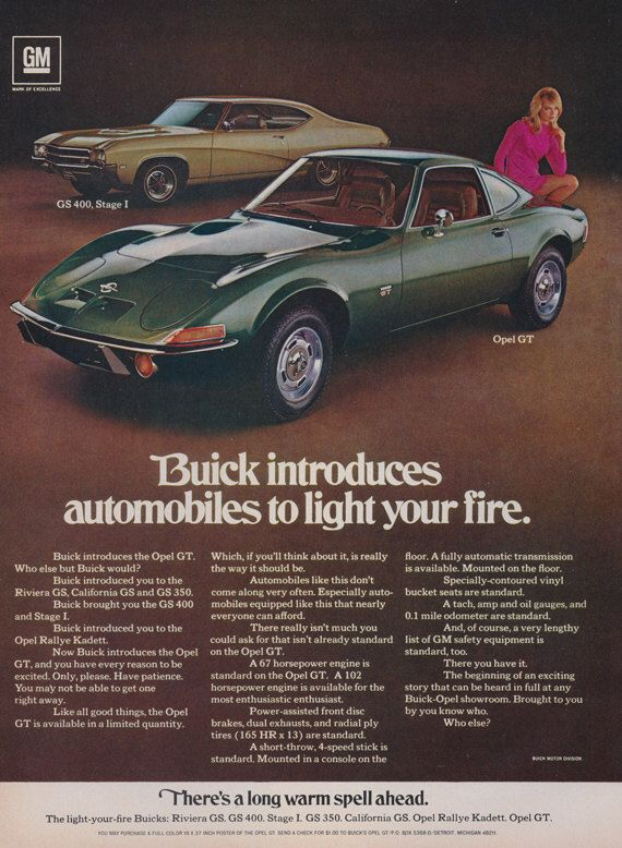 106 best images about buick opel gt on pinterest cars opals and cute gift ideas. Black Bedroom Furniture Sets. Home Design Ideas