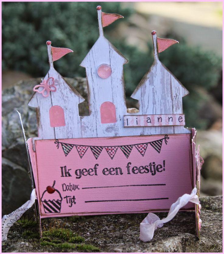 Madeliefjuh: uitnodigingen prinsessen feest