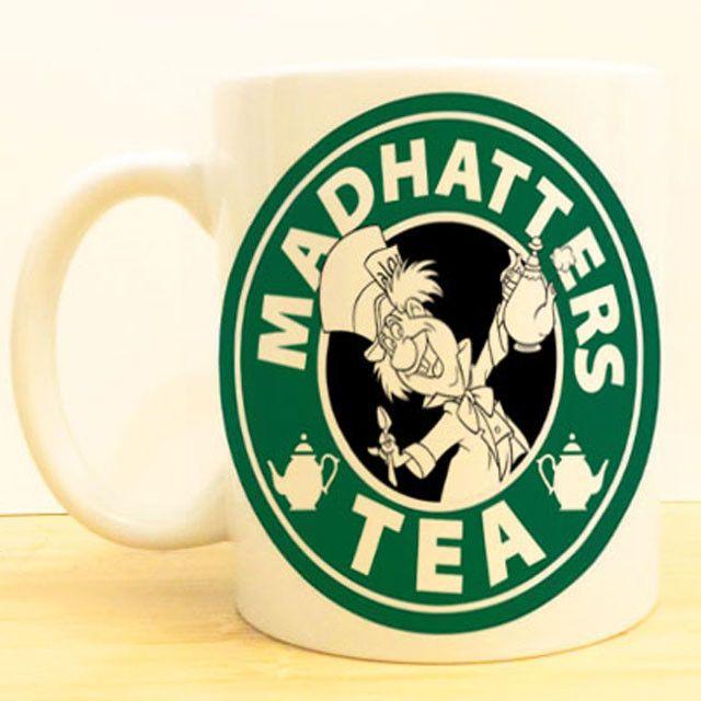 Mad Hatter's Tea Coffee Mug | Alice in Wonderland Starbucks | Disney