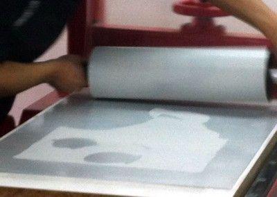 Nuestro famoso y único curso de ALGRAFIA (Litografía sobre Aluminio).  ¡No te lo pierdas!