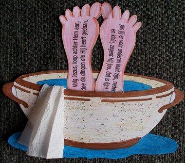 Nederig zijn - voetwassing