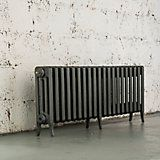 Arroll Neo-Classic 4 Column Radiator, Cast Grey (W)1234mm (H)460mm | Departments | DIY at B&Q
