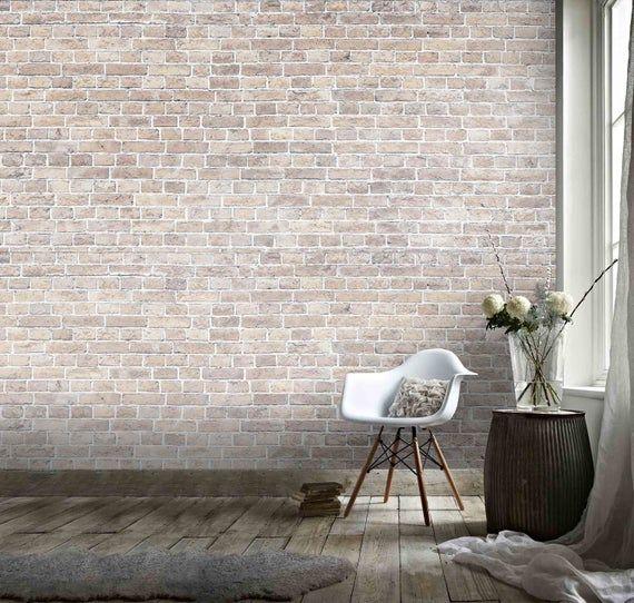 3d Retro Light Grey Brick Effect Wallpaper Mural Peel And Stick Wallpaper Removable Wall Prints Stickers Feature Wall Wallpaer B301 Brick Texture Brick Effect Wallpaper Textured Wallpaper