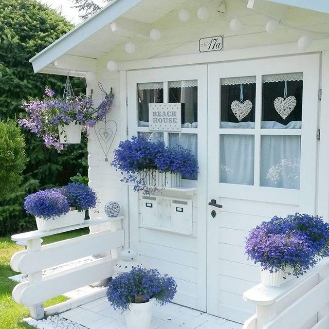 Shabby and Charme: Total white per una bella casa in Germania