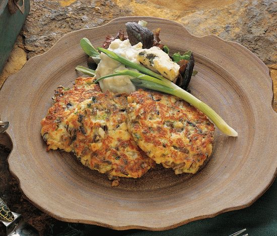 Awesome Walleye Cakes. We make these all the time. Don't need as many saltines or mayo as the recipe calls for though.