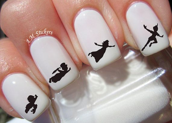 Hey, I found this really awesome Etsy listing at https://www.etsy.com/listing/240506272/70-peter-pan-nail-decals
